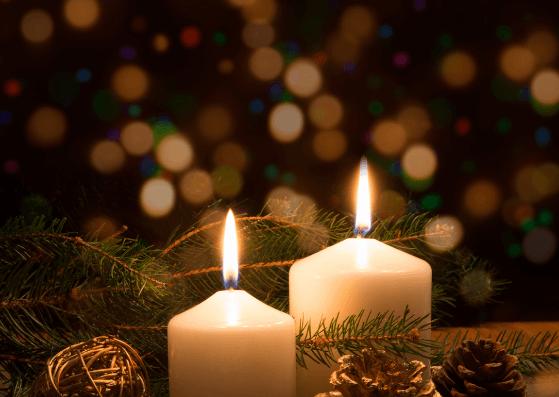 2. Advent Weihnachtskarten zum Ausdrucken