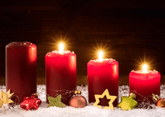 3. Advent Weihnachtskarten zum Ausdrucken