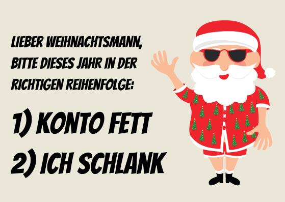 Coole Weihnachtskarten