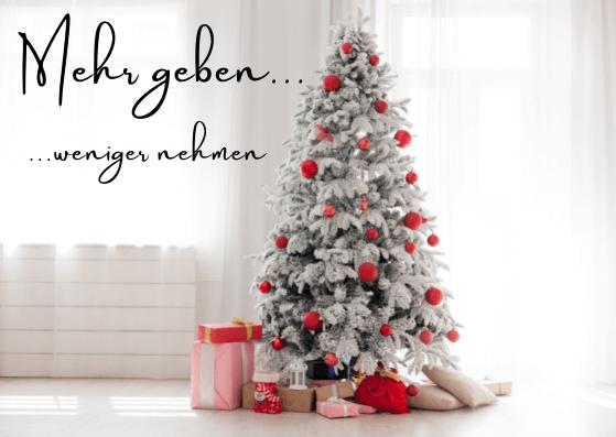 Geschäftliche Weihnachtskarten mal anders
