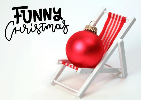 Lustige Weihnachtskarten für WhatsApp