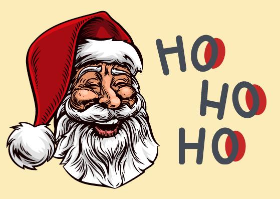 Vintage Weihnachtskarten zum Ausdrucken