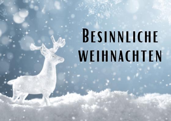 Weihnachtskarten für Altenheime
