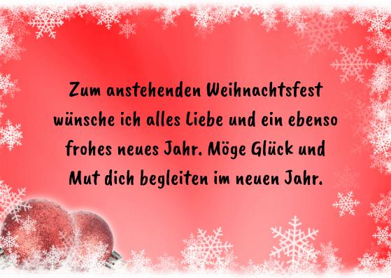 Weihnachtskarten inklusive Neujahrsgrüße