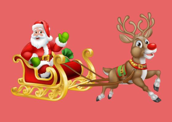 Weihnachtskarten zum Ausdrucken für Kinder
